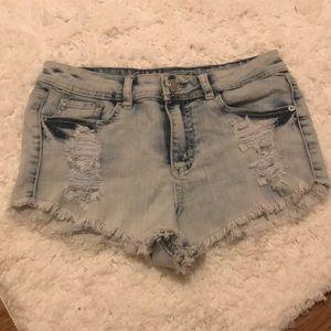 Rue 21 short ripped shorts ☀️